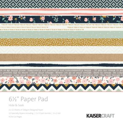 Kaisercraft Hide & Seek - 6.5x6.5 Paper Pad