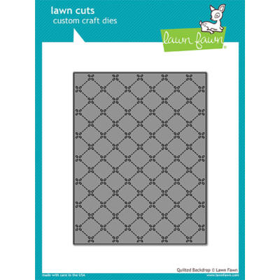 Lawn Fawn Die - Quilted Backdrop