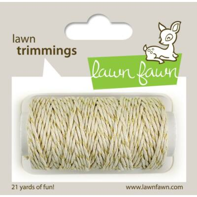 Lawn Fawn - Gold Sparkle Single Cord