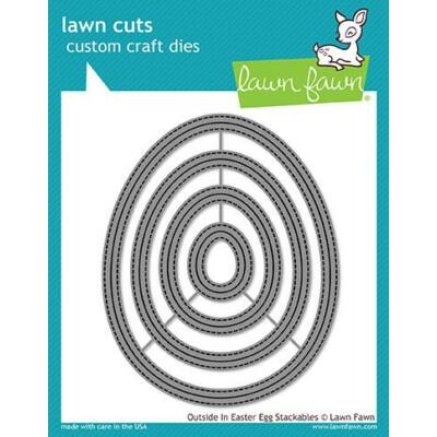 Lawn Cuts - Outside in Easter Egg Stackables