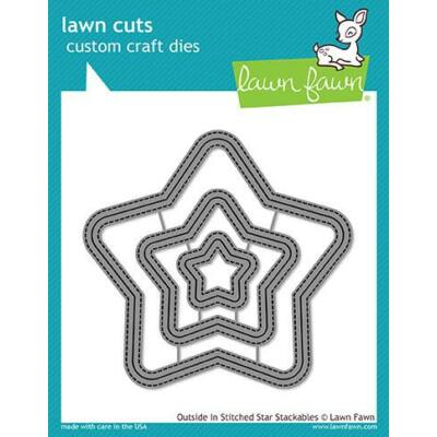 Lawn Cuts - Outside in Stitched Star Stackables