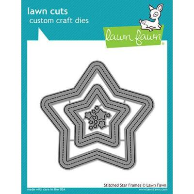 Lawn Cuts - Stitched Star Frames
