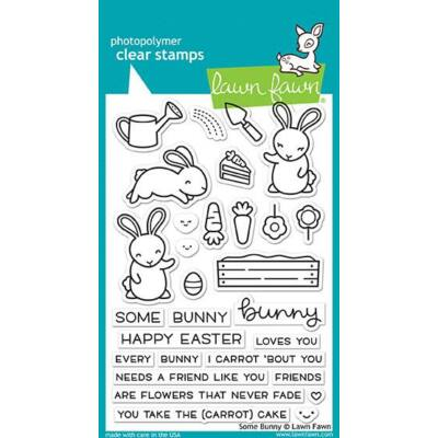 Lawn Fawn 4x6 Clear Stamp - Some Bunny