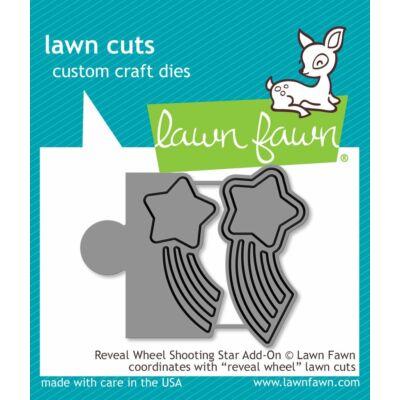 Lawn Fawn Die Set - Reveal Wheel Shooting Star Add-on