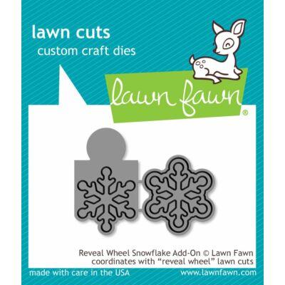 Lawn Fawn Die Set - Reveal Wheel Snowflake Add-on