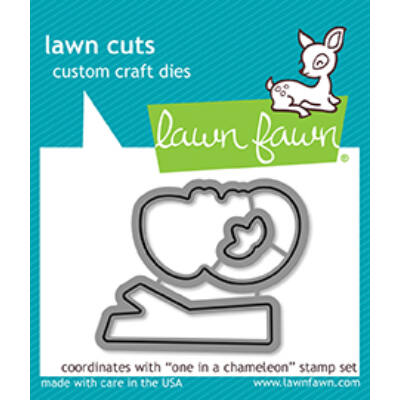 Lawn Fawn Die Set - One In A Chameleon
