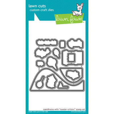 Lawn Fawn Die Set - Coaster Critters