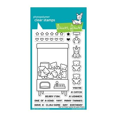 Lawn Fawn Clear Stamp - You're Claw-some