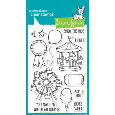 Lawn Fawn Clear Stamp - Admit 1
