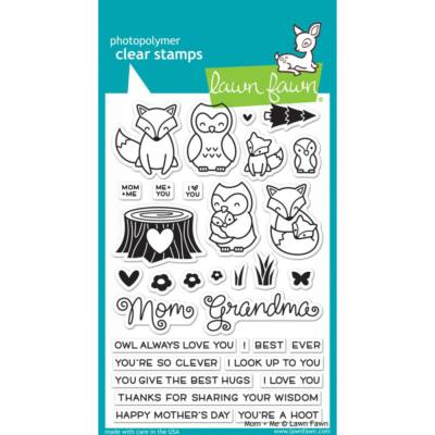 Lawn Fawn Clear Stamp - Mom + Me