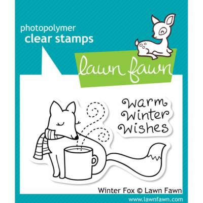 Lawn Fawn Clear Stamp - Winter Fox
