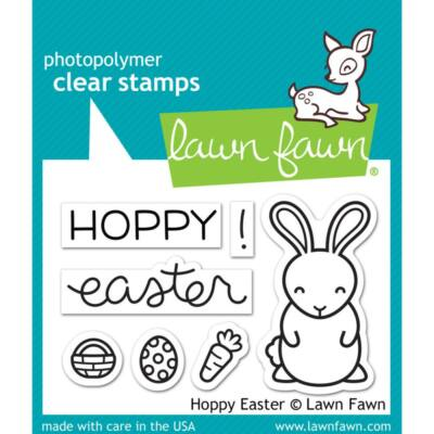 Lawn Fawn 2x3 Clear Stamp - Hoppy Easter