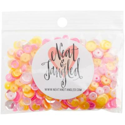 Neat & Tangled Sequin Mix - Pink Lemonade