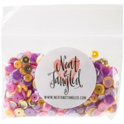 Neat & Tangled Flitter Mix - Wild Orchid
