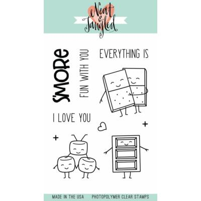 Neat & Tangled 3x4 Stamp Set - S'more Fun