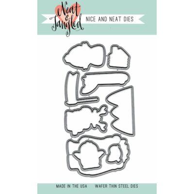 Neat & Tangled Dies - Get Yeti