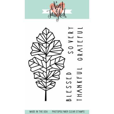 Neat & Tangled 3x4 Stamp Set - Oak Leaf