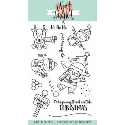 Neat & Tangled 4x6 Stamp Set - Santa's Wonderland