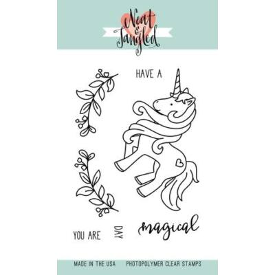 Neat & Tangled 3x4 Stamp Set - Magical Day