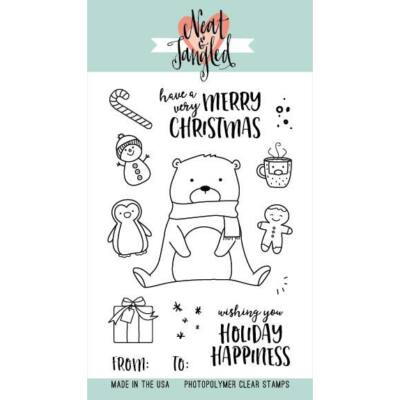Neat & Tangled 4x6 Stamp Set - Beary Merry