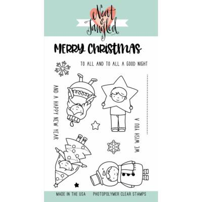 Neat & Tangled 4x6 Stamp Set - Christmas Pageant