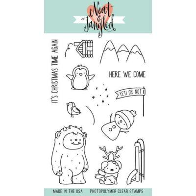 Neat & Tangled 4x6 Stamp Set - Get Yeti