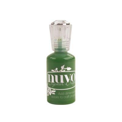 Nuvo Crystal Drops - Gloss-Woodland Green