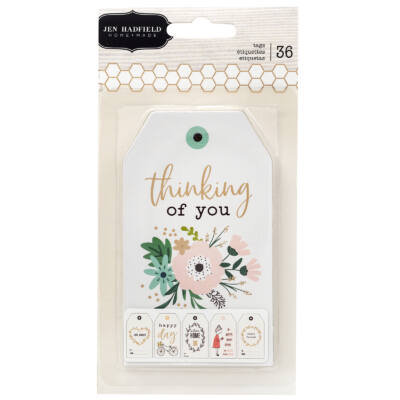 Pebbles - Jen Hadfield - Along The Way Tag Pad (36 Piece)