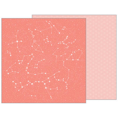 Pebbles - Nigh Night 12x12 Patterned Paper - Twinkle Twinkle  Available in