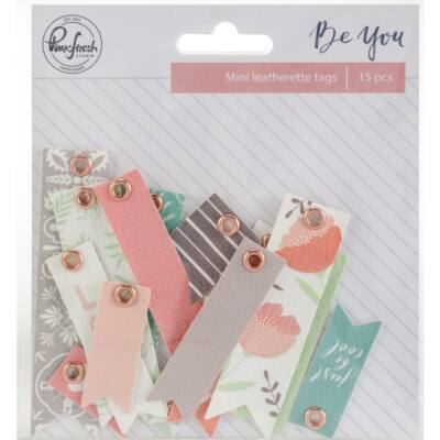 Pinkfresh Studio - Be You Leatherette Tags