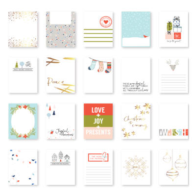Pinkfresh Studio - December Days Pocket Life Cards