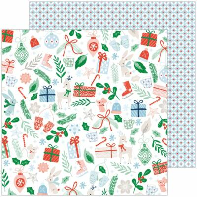 Pinkfresh Studio - Holiday Vibes 12x12 Paper - Christmas Cheer