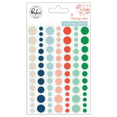 Pinkfresh Studio - Holiday Vibes Enamel Dots