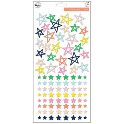 Pinkfresh Studio - The Mix No. 2 Puffy Stars Stickers