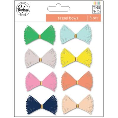 Pinkfresh Studio - The Mix No. 2 Tassel Bows