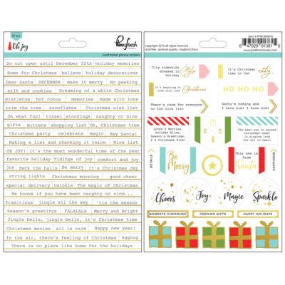 Pinkfresh Studio - Oh Joy Gold Foiled Phrase Stickers