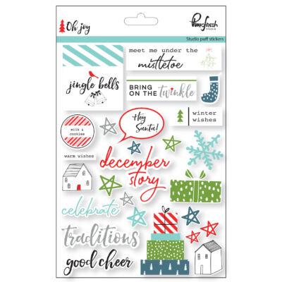 Pinkfresh Studio - Oh Joy Puffy Stickers