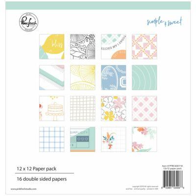 Pinkfresh Studio - Simple & Sweet 12x12 Paper Pad