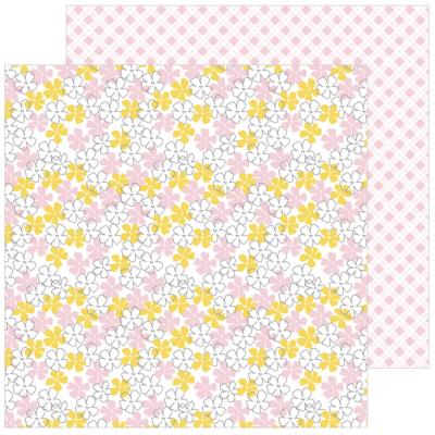 Pinkfresh Studio - Simple & Sweet 12x12 Paper - Simplicity