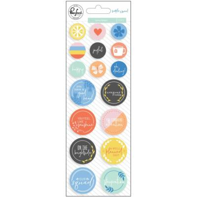 Pinkfresh Studio - Simple & Sweet Epoxy Stickers