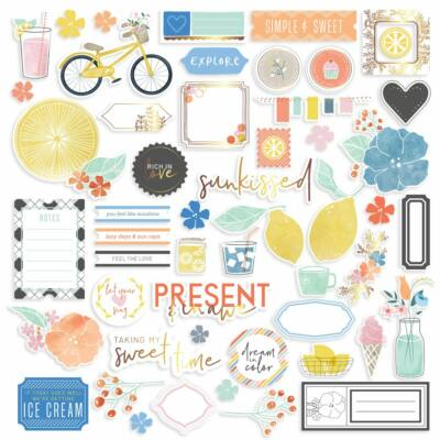 Pinkfresh Studio - Simple & Sweet Ephemera
