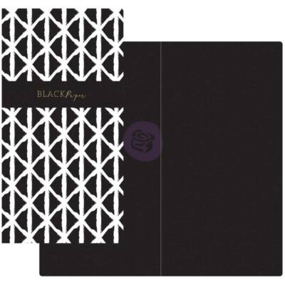 Prima Traveler's Journal Notebook Refill Black Paper