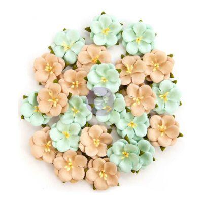 Prima Marketing - Zella Teal Flower- Bliss Delight