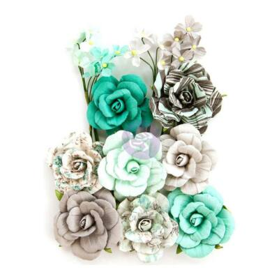 Prima Marketing - Zella Teal Flower - Teal Love