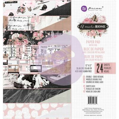 Prima Marketing Amelia Rose - 12x12 Paper Pad