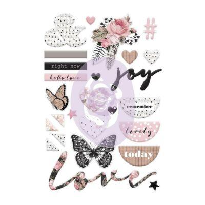Prima Marketing - Amelia Rose Puffy Stickers
