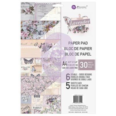 Prima Marketing - Lavender A4 Paper Pad