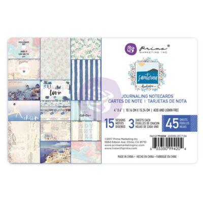 Prima Marketing - Santorini 4x6 Card Pad