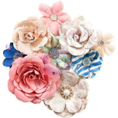 Prima Marketing - Santorini Paper Flowers - Fira