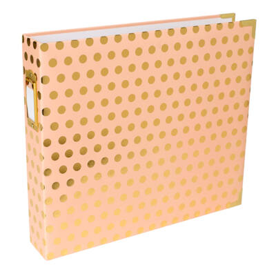 Becky Higgins - Project Life - 12 x 12 Album Blush Gold